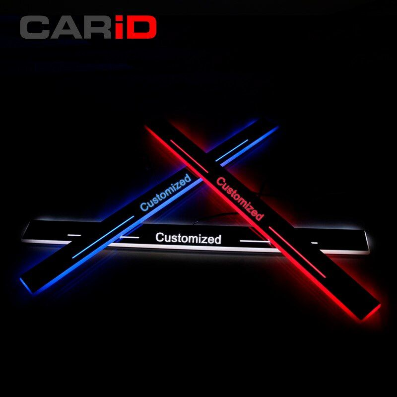 CARiD Trim Pedal LED Car Light Door Sill Scuff Plate Pathway Dynamic Streamer Welcome Lamp For Lexus IS200 IS250 IS300h 2013-15