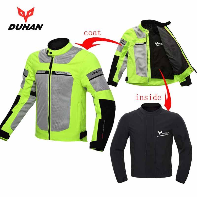 2018 Summer New DUHAN cross-country motorcycle Jacket men's Moto racing jackets wrestling motorbike coat D-133 size M L XL XXL
