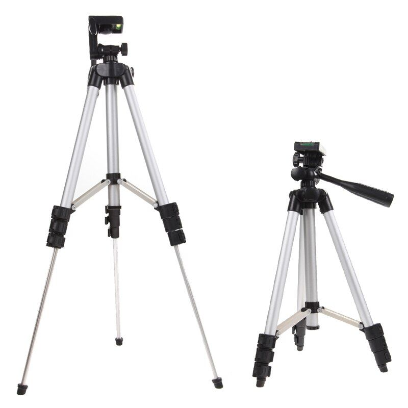 Chaude professionnel caméra caméscope trépied monopode appareil photo numérique support de stand + support de téléphone + sac de transport en nylon pour iphone samsung