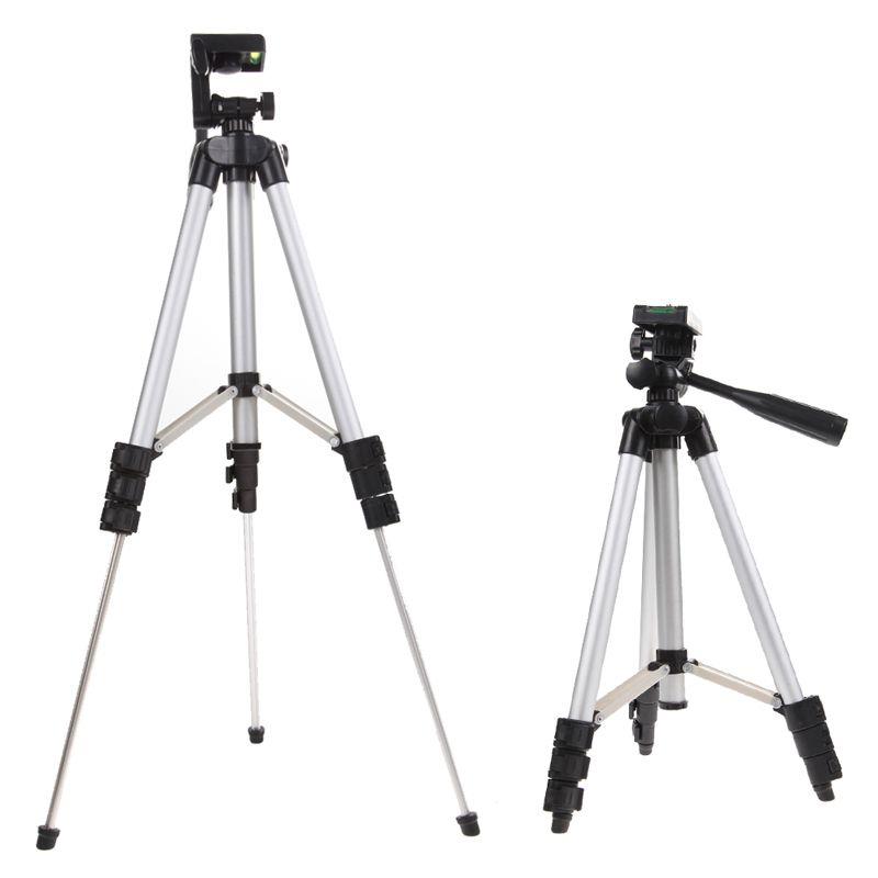 Hot Professional Camera Camcorder Tripod Monopod Digital Camera Stand Holder + Phone Holder + Nylon Carry Bag For iPhone <font><b>Samsung</b></font>