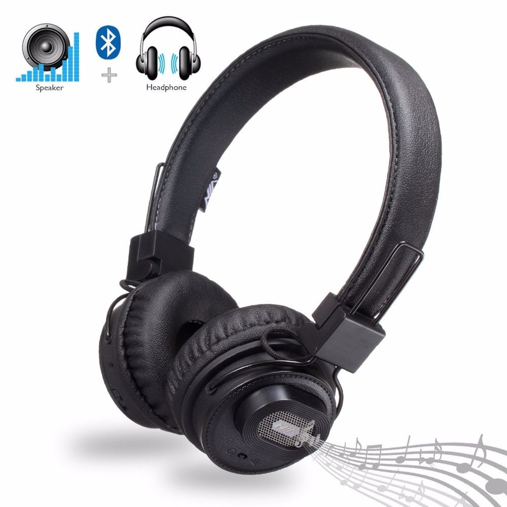 Original NIA X5SP Headset Wireless Stereo Bluetooth Headphones Bluetooth Speakers fone de ouvido bluetooth with Mic
