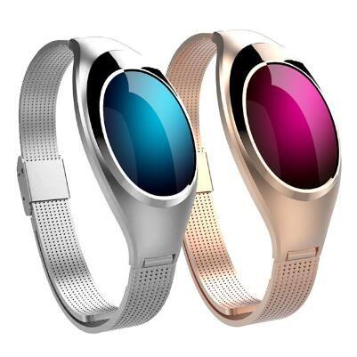 Z18 Cadeau Smart Bracelet Coeur Taux Sang Pression Smart Watch Bande Luxueux Montre Femmes Bijoux bracelet à puce Pk xiaomi bande