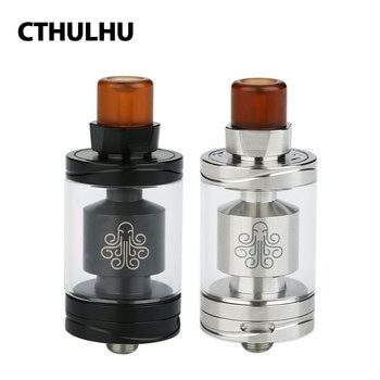 New Original 3.5ml Cthulhu Hastur MTL RTA Tank with 5 Swappable Air Flow Resisters & Raised Building Deck E-cig Vape Atomizer