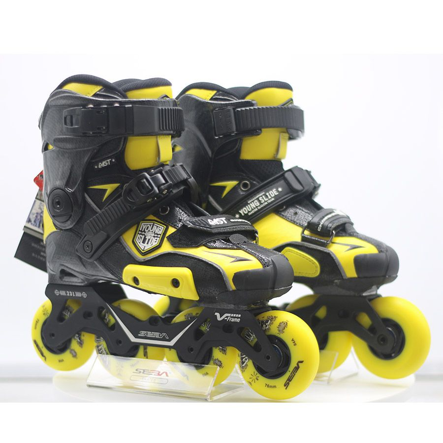 100% Original 2019 SEBA IGOR2 MST JUNGES Rutsche Erwachsene Inline Skates Roller Skating Schuhe Flache Rahmen Slalom Schiebe FSK Patines