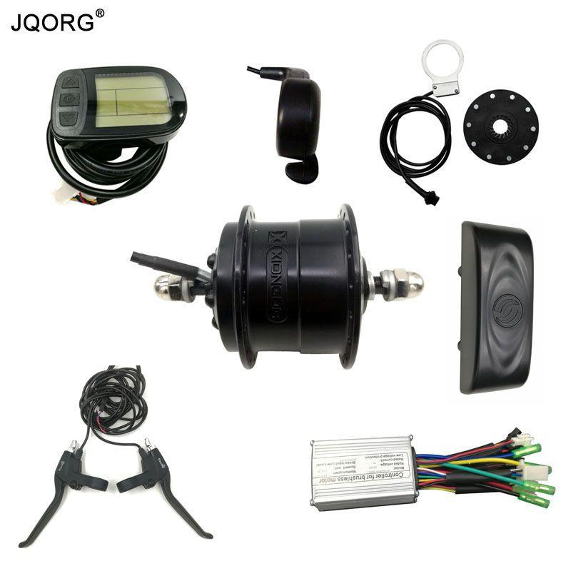 JQORG Ultra Licht DC36V 250 Watt Front Drive Bldc-motor Und Motor-Kits Für Elektro-fahrrad Umbausätze e-bike Refit Motor Kits