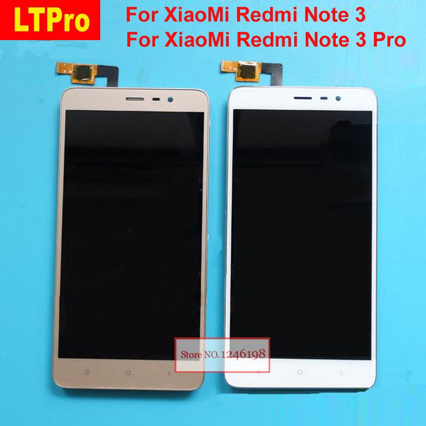 LTPro LCD Display Touch Screen Panel Digitizer Assembly with Frame For Xiaomi Redmi Note3 Hongmi Note 3 Note 3 Pro Phone Parts