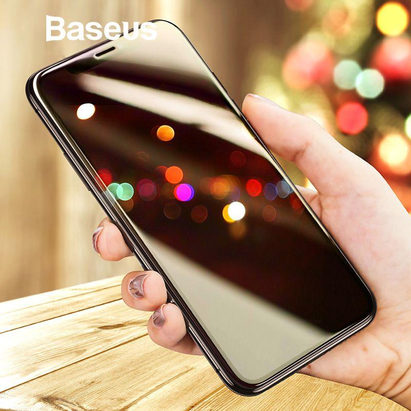 Baseus Screen Protector Für iPhone X 0,3mm Ultra Dünne 9 H 3D Vollständige Abdeckung Schutz Glas Für iPhone X gehärtetem Glas Abdeckung