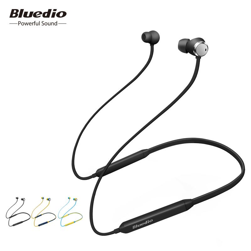 2018 Bluedio TN Bluetooth headphones active noise cancelling in-ear earphone with microphone for phone iphone xiaomi