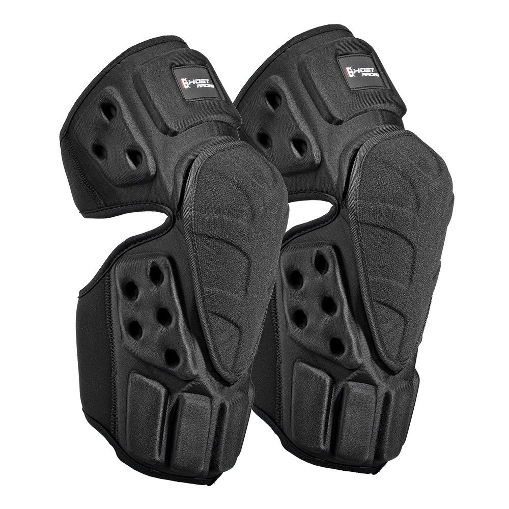 Ghost Racing thermal knee Armor Knee Braces for motorcycle racing bicycle riding outdoor sport Motorcycle Protective kneepad