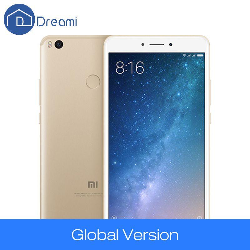Dreami D'origine Xiaomi Mi Max 2 Mondial Version 4 GB 64 GB 5300 mAh Max2 Snapdragon 625 Mobile Téléphone