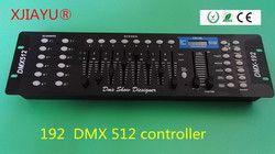 192 DMX 512 controlador/controlador de iluminação led/l192 dmx'192 instage efeitos de iluminação dmx controlador Farrow Cabo RVVP