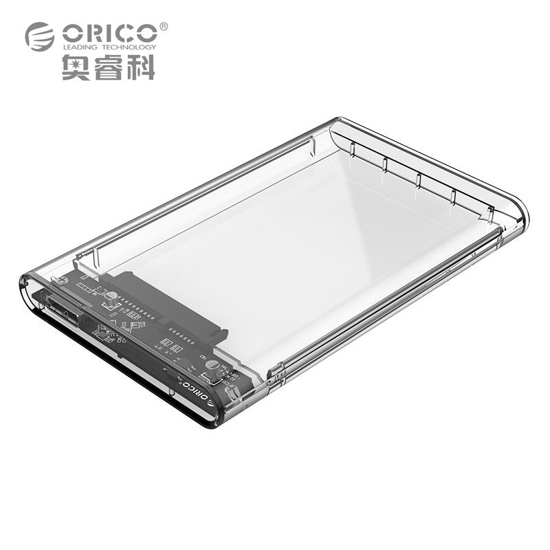 ORICO 2139U3 2.5 pulgadas USB3.0 a Sata 3.0 HDD Case Transparente herramienta Gratuita 5 Gbps Protocolo UASP Apoyo 2 TB Disco Duro Recinto