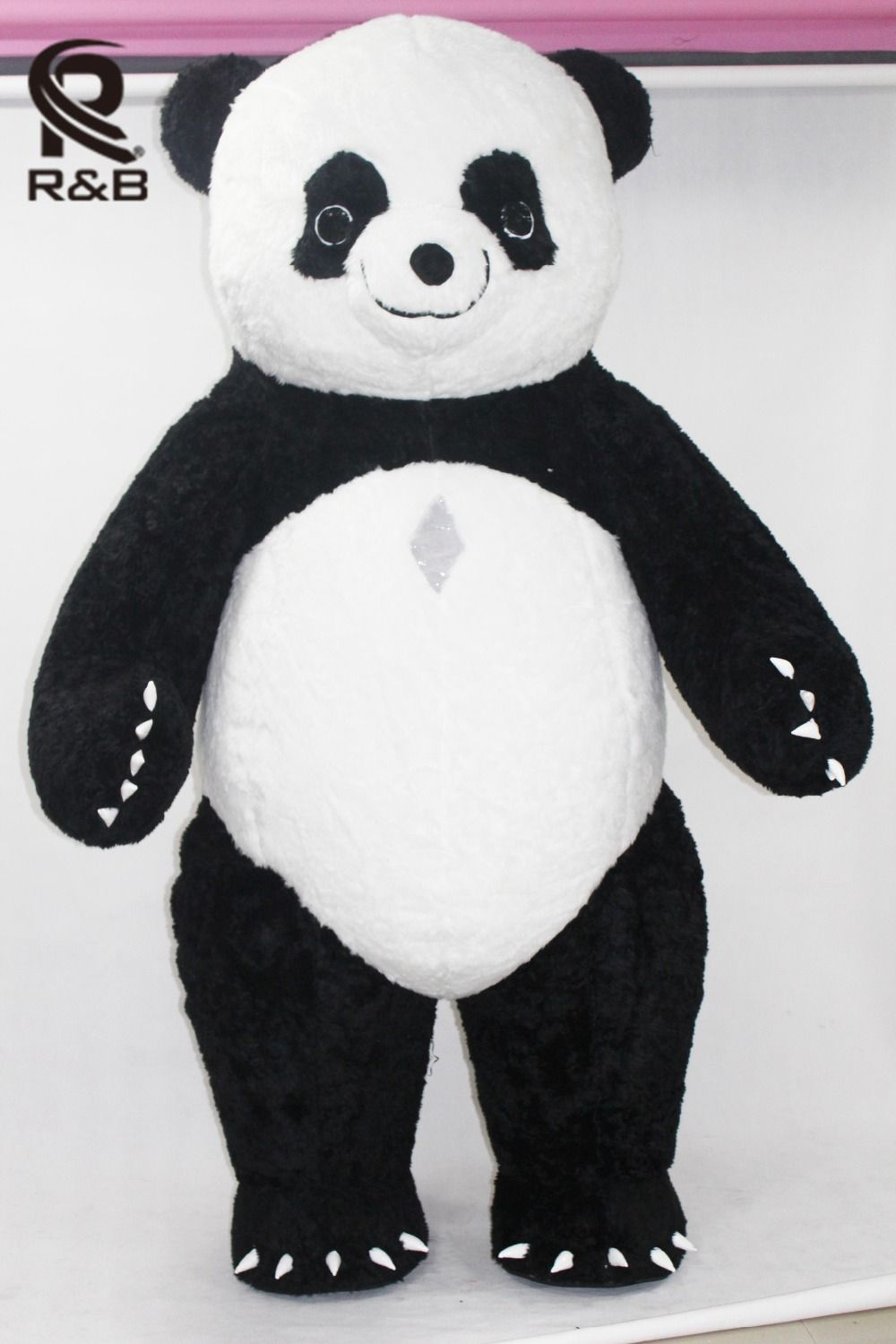 New Style Inflatable Panda Costume Inflatable Panda For Advertising 3M Tall Customize For Adult Suitable For 1.7m To 1.85m Adult