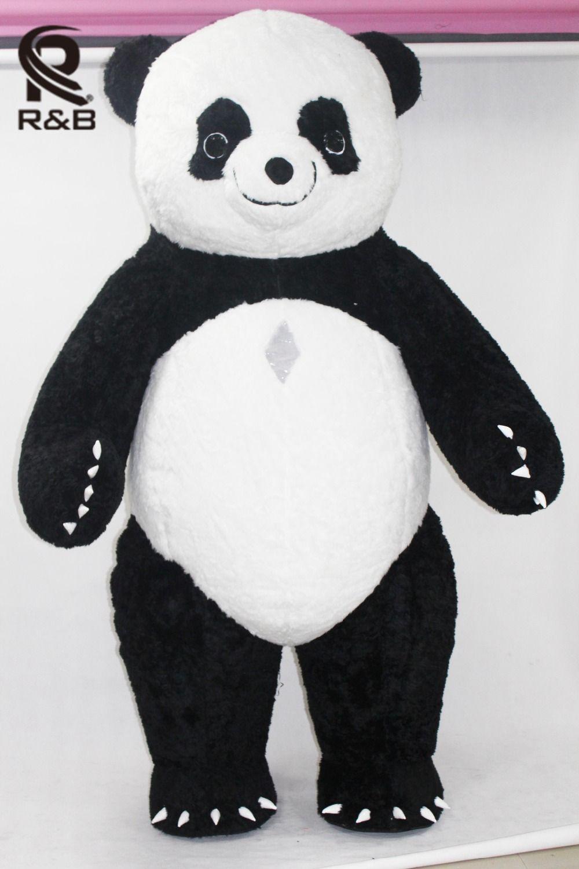 Nuevo Estilo Inflable Traje de La Panda Panda Inflable Para Publicidad 3 M de Altura Del Personalizar Para Adultos Adecuado Para 1.7 m A 1.8 m Adultos