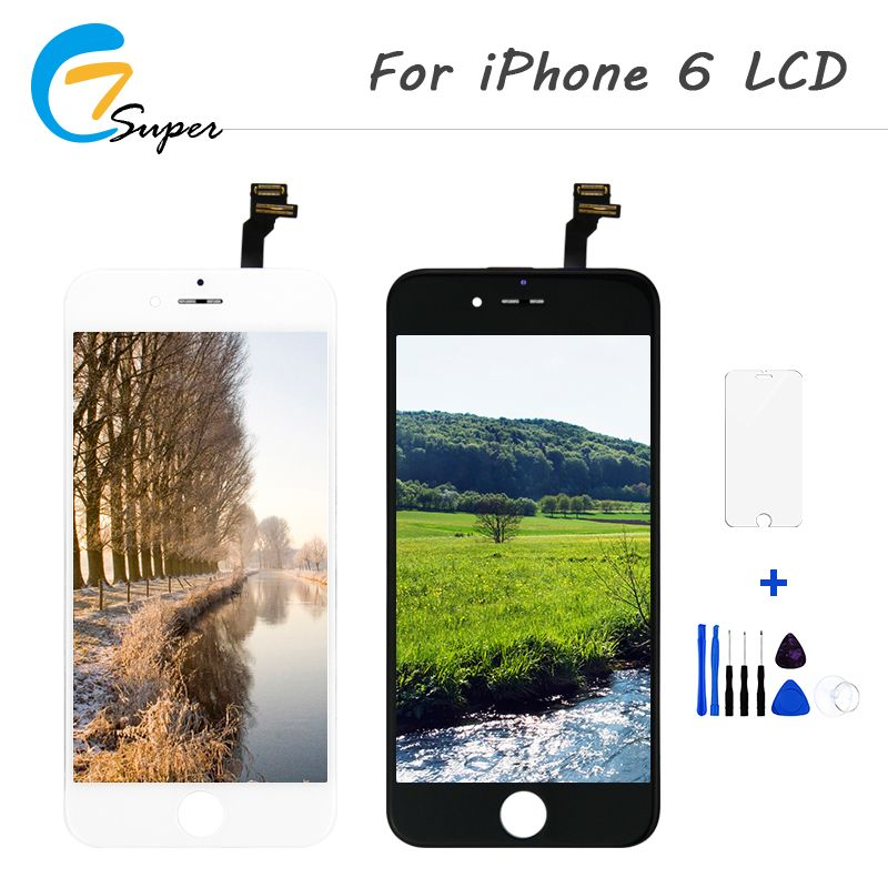 <font><b>1PCS</b></font> LCD Display for iphone 6 6g 6s 7 7g Display AAA Screen Replalcement Touch Screen Digitizer Assembly Free Shipping