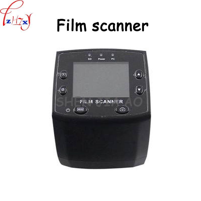 35mm film scanner 5 million pixel film scanner supports 35mm color positive, negative, color and black and white slide 10 pcs