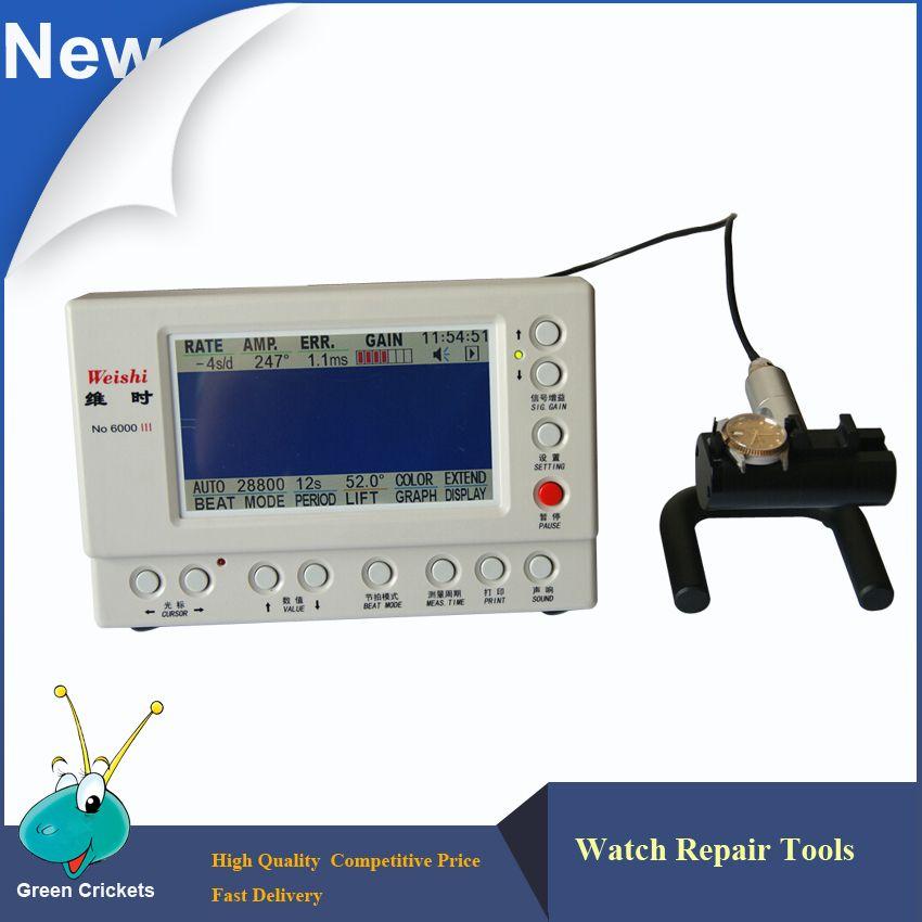 No.6000 III Multifunction Watch Timegrapher,Mechanical Watch Tester Timing Machine,Watch Tools