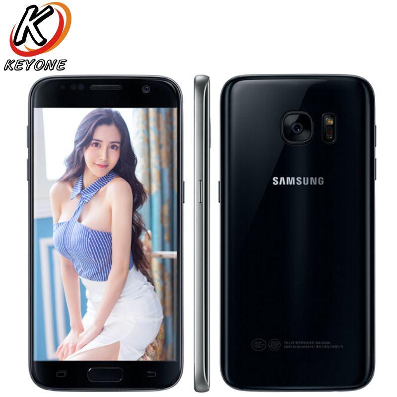 Original Samsung Galaxy S7 G9300 4G LTE Mobile Phone 5.1