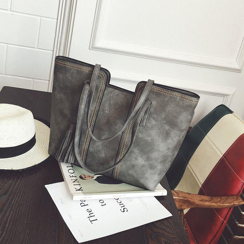 YBYT marke 2018 neue vintage casual große kapazität frauen handtaschen hotsale damen einkaufstasche schulter messenger crossbody taschen