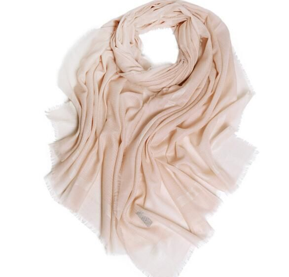 100% cashmere solid scarf tassel soft pashmina for women high quality