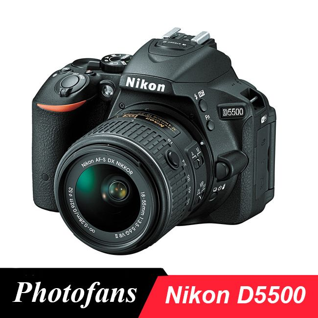 Nikon D5500 Dslr Camera -24.2MP 1080P Video -3.2