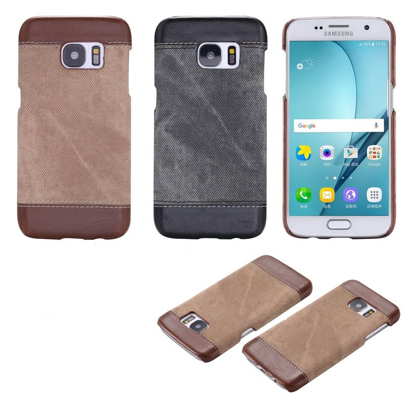 RMJ-DNA For Samsung Galaxy S7 S6 S8 Plus Case Leather+PC Hard Back cover For Galaxy S6 S7 S8 edge Note 8 Coke protective cases