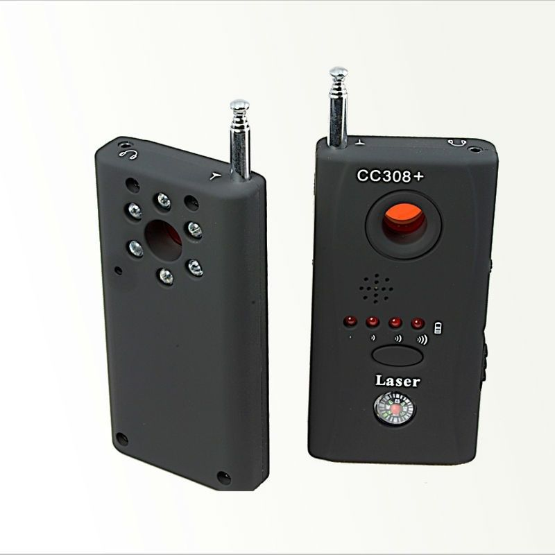Anti Candid Camera CC308+ Detector Full-Range All-Round Detector For Hidden Mini Camera/IP Lens/GMS/RF Signal Detector Finder