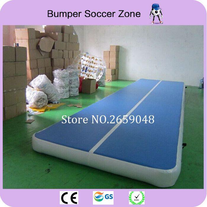 Freies Verschiffen 10x2 mt Aufblasbare Air track Guangzhou Airtrack Fabrik Aufblasbare Durable GYM Tumbling Matten Für Gymnastic Freies pumpe