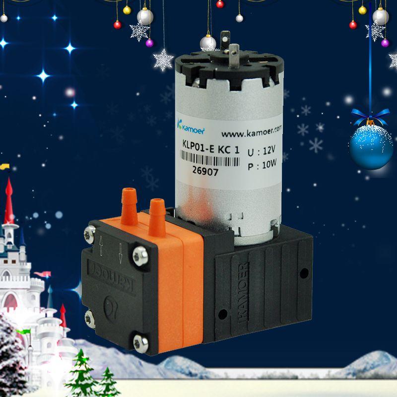 Kamoer KLP01 Diaphragm Pump (12V DC Water Pump, 24V, PTFE Membrane, High Flow, Membrane Pump, For Weak Alkali and Acid)