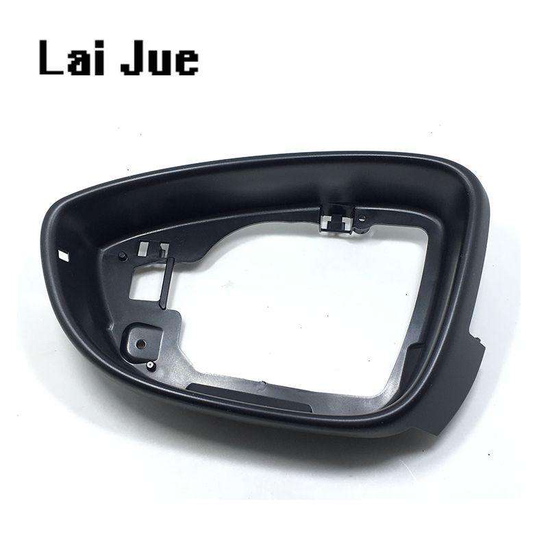 1PCS LEFT Side Mirror Housing Frame trim For VW passat b7 CC Jetta MK6 Beetle EOS Scirocco 3C8 857 601 A  3C8857601A