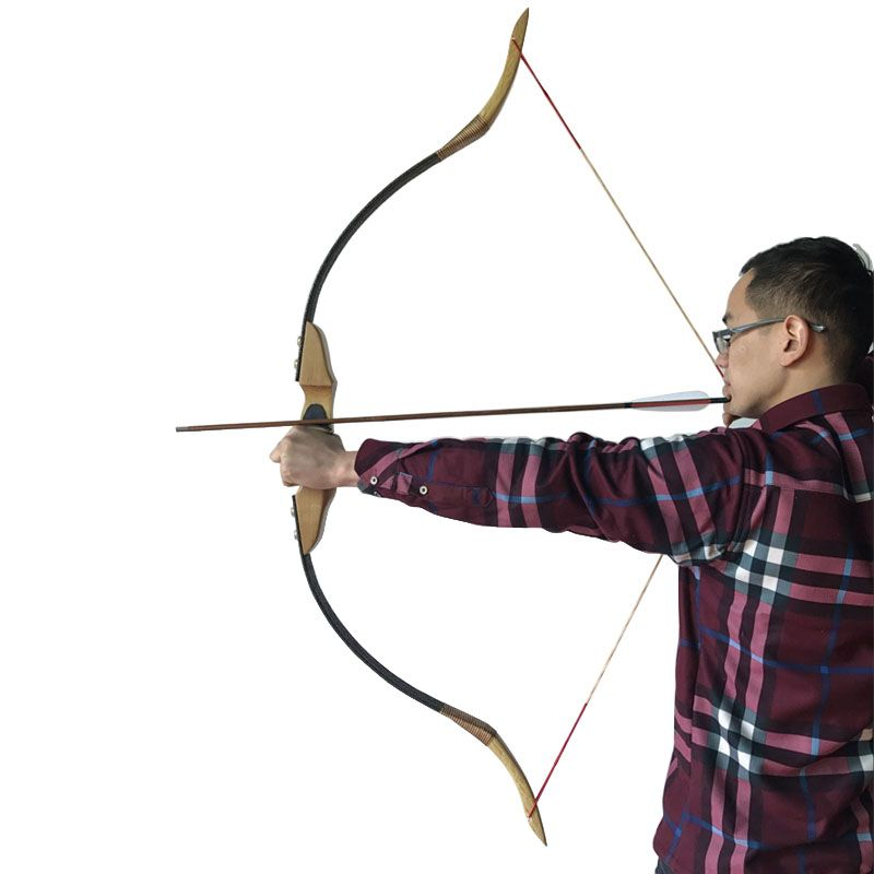 Chinese Handmade Traditional Bow Archery Hunting Takedown Recurve bow By Chinese Master Handmade Diy Archery Bow
