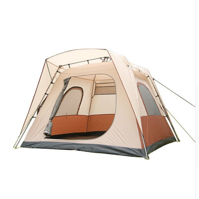 Eine Große Schlafzimmer Wasserdicht Zelt Ultra 5-8 Person Vollautomatische Öffnung Zelt