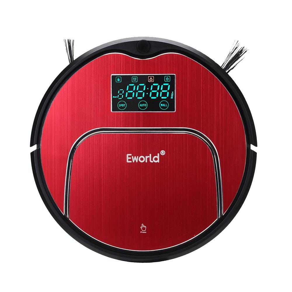 Eworld M883 aspirateur intelligent balayage Robot Rechargeable aspirateur télécommandé automatique poussière maison nettoyeur