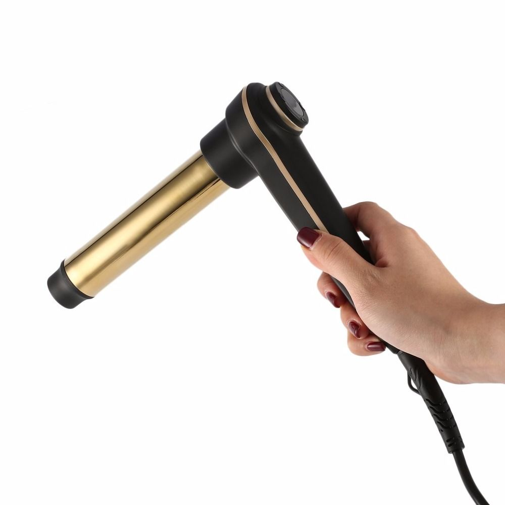 Hair Curling with Even Heat 24K Gold Plated Long-lasting Curts & Digital Accuracy Temperature Display EU/US/UK Plug new
