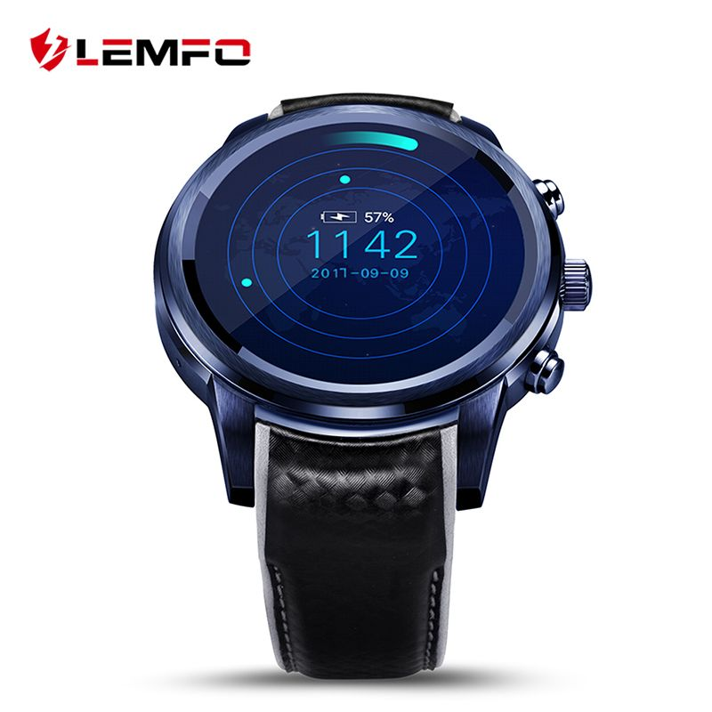 LEMFO LEM5 Pro Smart Watch Phone Android 5.1 2GB + <font><b>16GB</b></font> Support SIM card GPS WiFi Wrist Smartwatch For Men Women