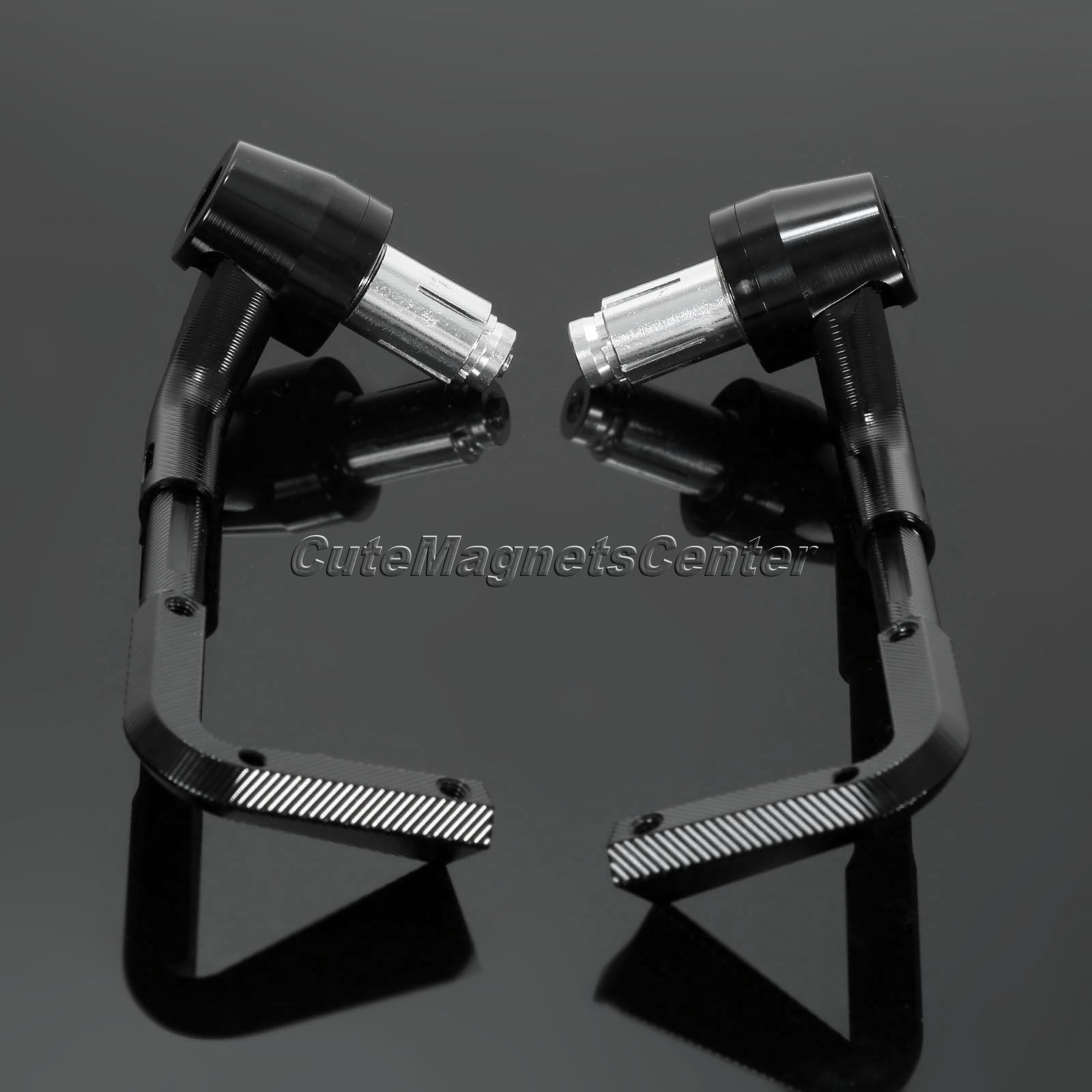 2pc CNC Motorcycle Lever Guards Protector Handlebar 7/8