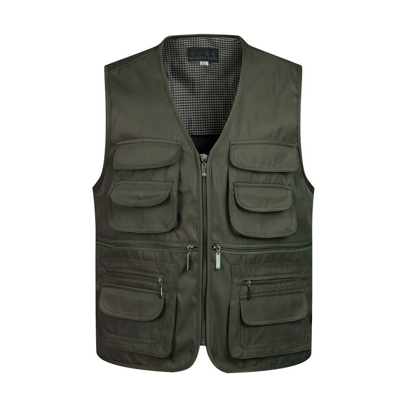 ZozoMan Vests Sleeveless Unloading Fashion Waistcoat With Many Male Coat Pockets Military Jacket Mens <font><b>Tactical</b></font> Vest Sweatshirts