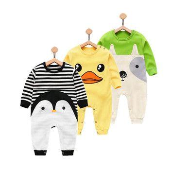 Orangemom 2018 nouveau-né bébé fille garçon porter pur coton vêtements pour bébés, mode bébé garçon vêtements enfants barboteuses 100% coton corps