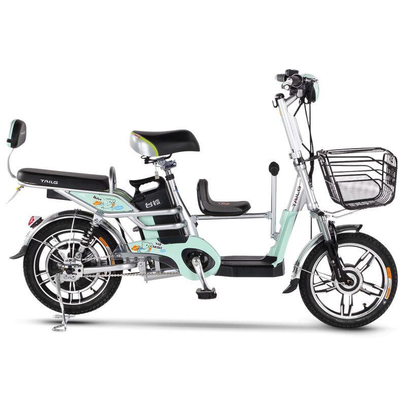 16-zoll elektrische fahrrad 48 V lithium-batterie Kind sitz familie-kind elektrische fahrrad außen Stadt elektrische roller ebike