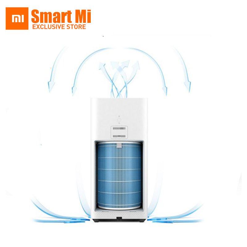 Original xiaomi purificador de aire 2 cadr 330m3/h, además de formaldehído bruma purificadores smartphone control remoto