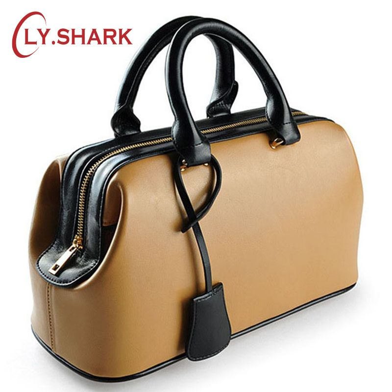 LY.SHARK Luxury Handbags Women Bags Designer Famous Brands Genuine Leather Bags For Women 2018 Ladies Hand Bags Summer Tote Bag