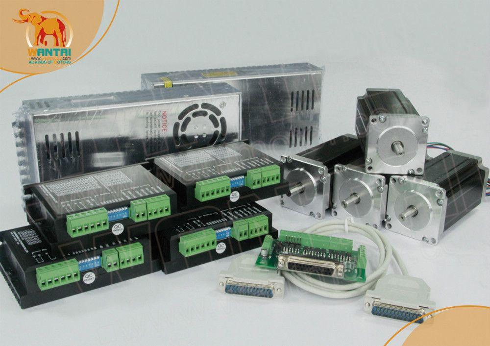 (Freies Schiff & Keine Steuer nach EU Kunden) Nema 23 Schrittmotor Wantai unzen-in, 4.2A, 4 Achsen CNC 3D Reprap Drucker WT57STH115-4204A