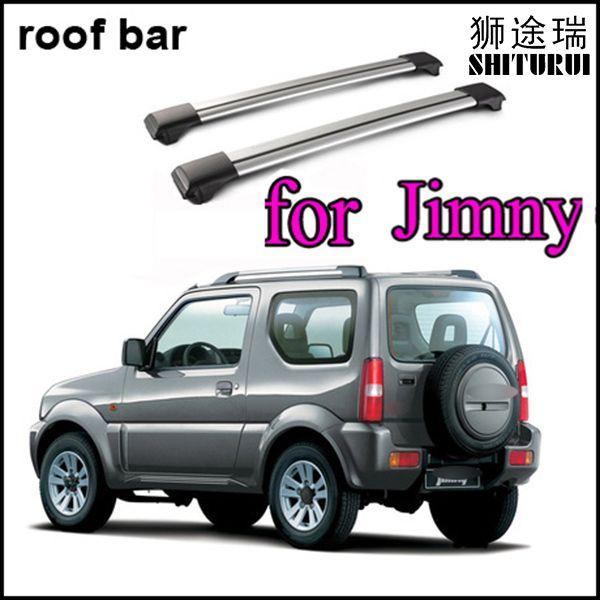 SHITURUI cross bar/roof rail/roof bar for Suzuki Jimny 1998-2018 sierra slap-up aluminum alloy,old seller,quality guarantee