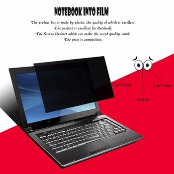 Anti Radiation 16 inch Privacy Filter Anti-spy Screens Protective Film Anti Peeping Dirty-proof For 16:9 Laptop