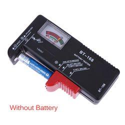 Haute Qualité Batterie Testeur Numérique Capacité De La Batterie Tester Vérifier le Niveau de Puissance pour AA/AAA/C/D/9 V/1.5 V Piles BT-168