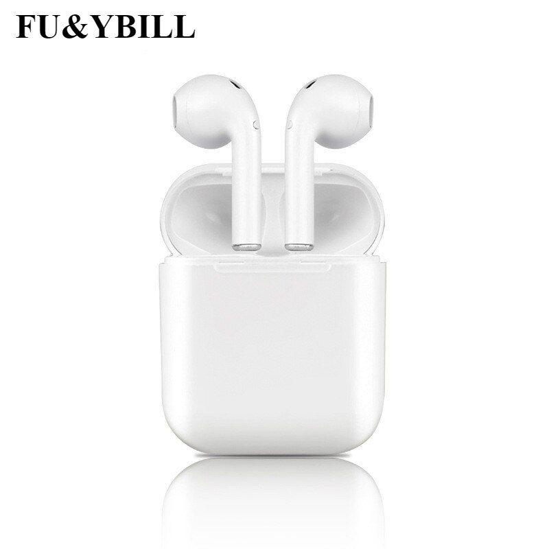 Fu&y bill I9S Wireless Earphone Bluetooth Headset In-Ear Invisible Earbud Headphone for IPhone 8 7 Plus 7 6 6s and Android PK I7
