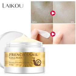 Snail face cream hyaluronic acid moisturizer anti Wrinkle anti aging nourishing collagen snail serum day cream skin care product