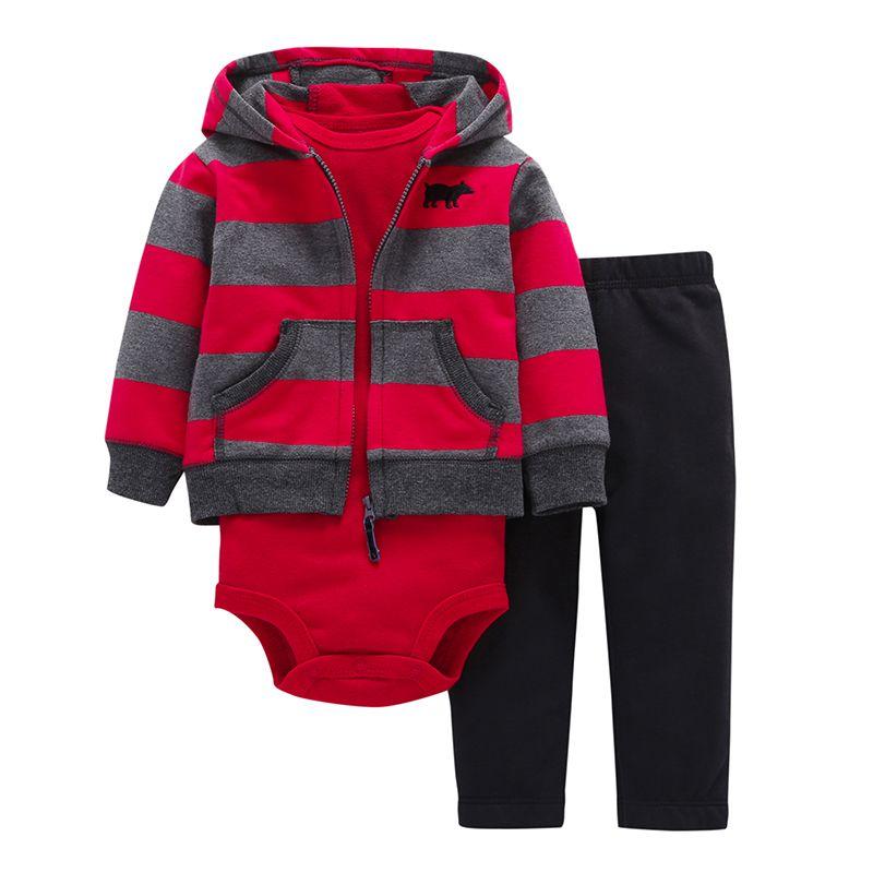 2019 haut à la mode offre spéciale 100% coton body & pantalon ensemble vêtements bébé garçons fille vêtements 0 ~ 24 mois nouveau-né costume