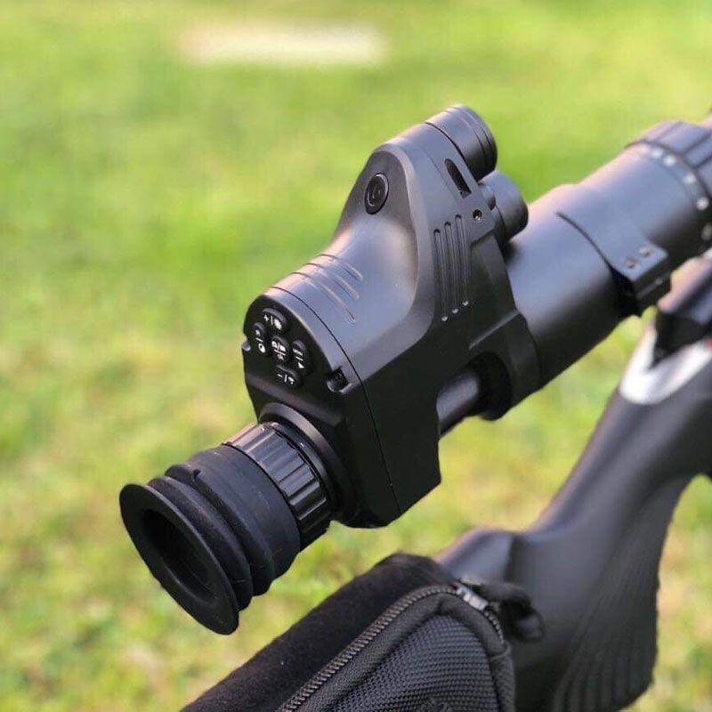 Jagd Tactical Digitale Nachtsicht Zielfernrohr Tag Und Nacht Scopes Befestigung Mit Camcorder Funktion