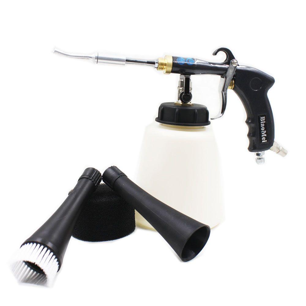 Z-020 air regulator Aluminium japanes steel bearing tube Tornado gun black for car wash tornador gun(1 whole gun+accessories)
